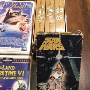 "Disney Other - VHS movies 34 plus (1) ""3 pk"" ❤️"